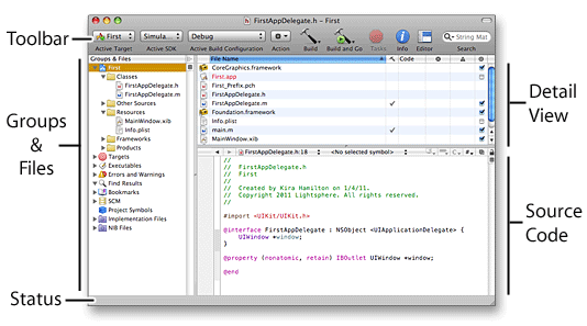 How to Learn iPhone Programming: Xcode: Creating a Project